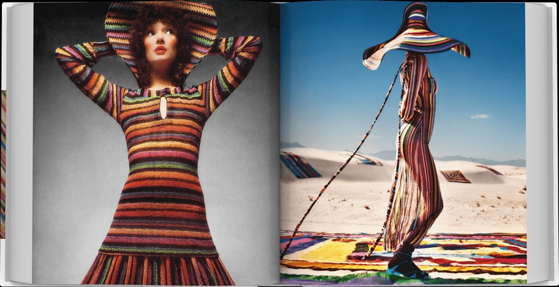 Missoni's The Great Italian Fashion book enriched with exclusive original fabric attached by hand-2019-