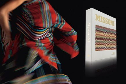 Missoni's Great Italian Fashion book enriched with exclusive original fabric attached by hand