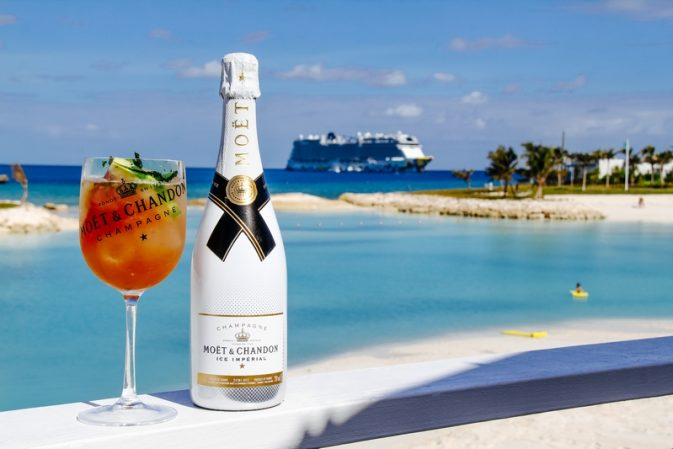 Moët & Chandon launches its first-ever luxury Ice Bar on a private island