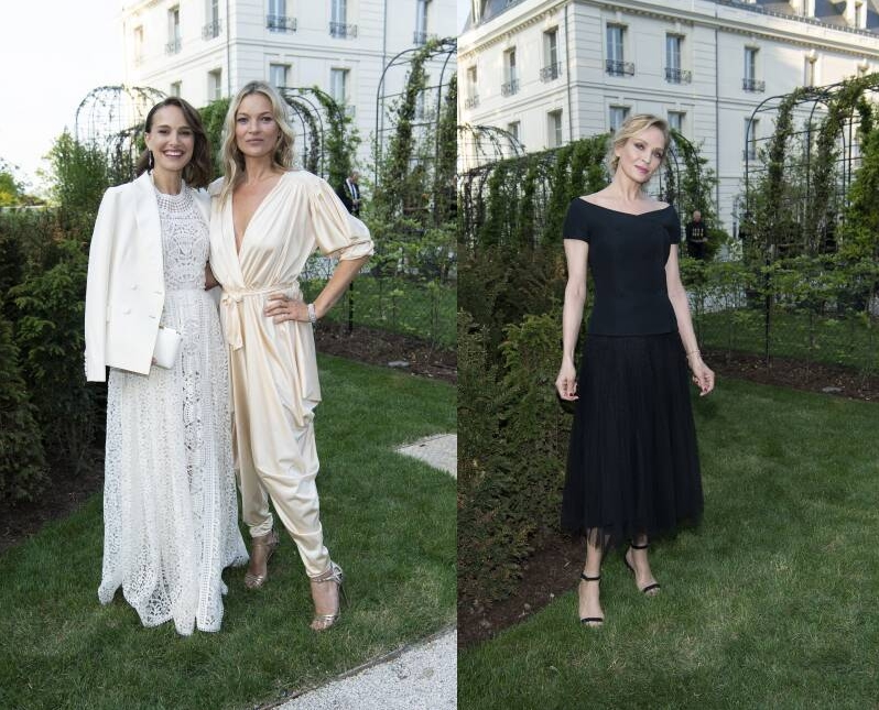 Moët & Chandon inaugurated the renovated Château de Saran-2019- Celebrities