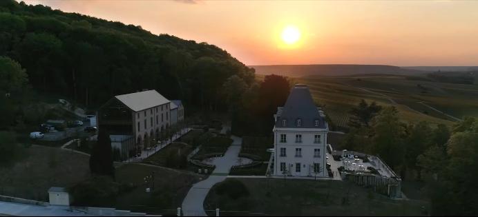 Moët & Chandon inaugurated the renovated Château de Saran-2019