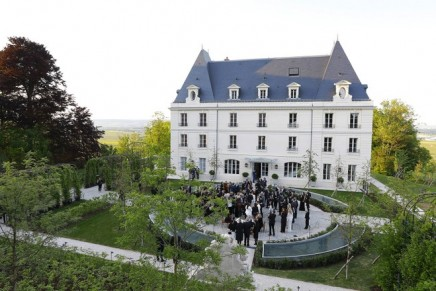 Moët & Chandon inaugurated the renovated Château de Saran