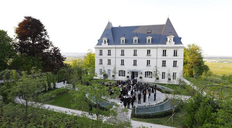 Moët & Chandon inaugurated the renovated Château de Saran
