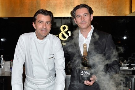 Culinary Creativity: Moët & Chandon's pop-up restaurant with Michelin-starred Yannick Alléno.