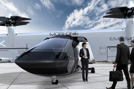 Automotive Technology Meets Aerospace Innovation: Mobi-One Tilt-Wing eVTOL