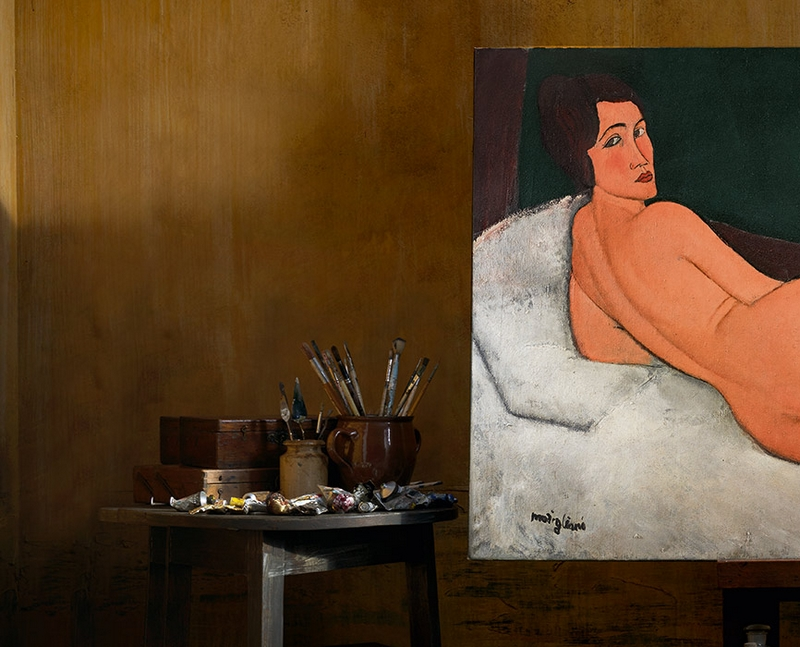Modigliani's Greatest Nude Is Also His Largest Painting Ever