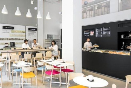 The lifestyle brand of the Creative Class opens Cafè in Milan
