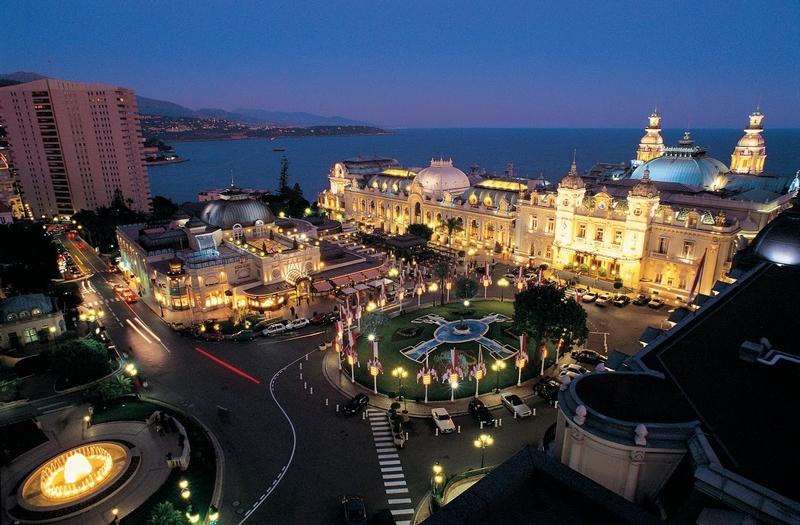 Monaco Casino by night