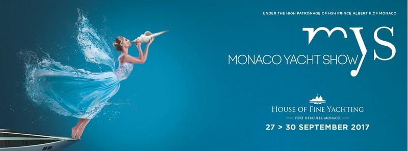Monaco Yacht Show poster 2017