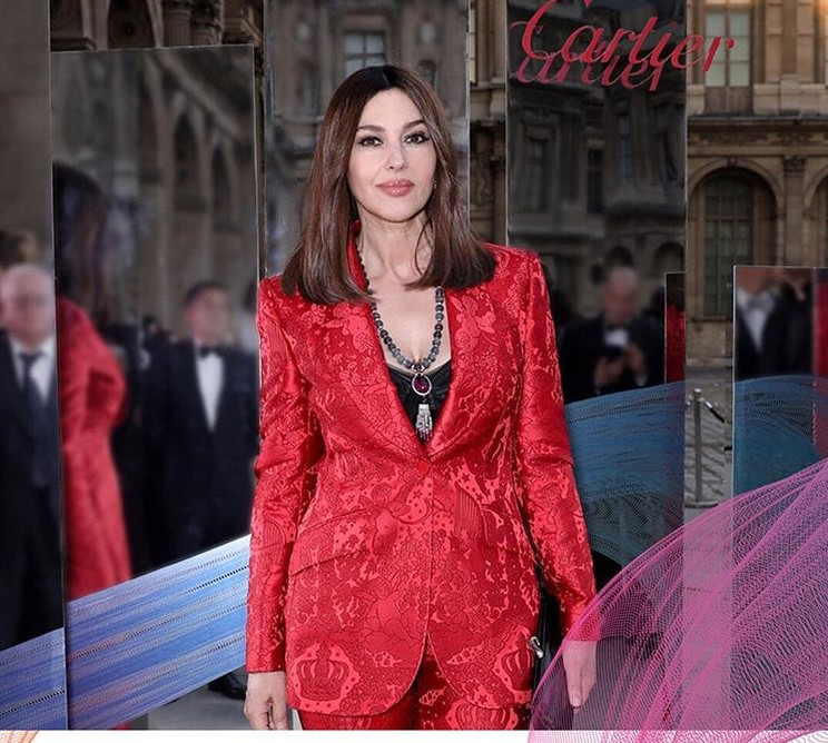 Monica B at the Cartier High Jewelry Gala