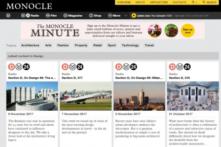 Monocle: you've seen the magazine – now buy the apartment