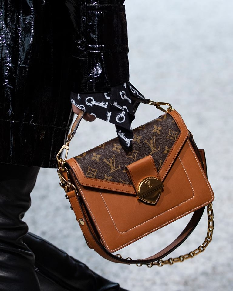 Monogram bag from the Louis Vuitton Cruise 2019 Collection by Nicolas Ghesquière