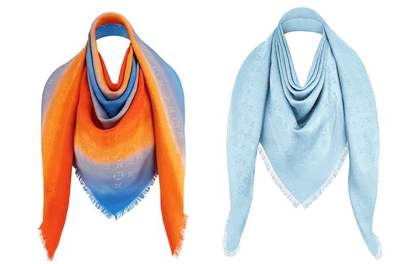 Monogram shawl