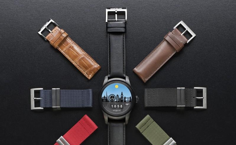 MontBlanc Summit Smartwatch - London