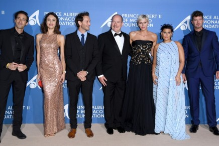 Red Carpet for blue oceans: International celebrities supports the 2nd Monte Carlo Gala for the Global Ocean