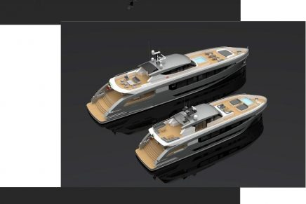 Tommaso Spadolini releases details of a dynamic series of pocket superyachts