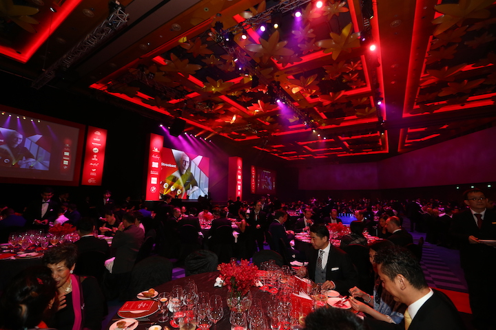 More than 380 attended the launch of the MICHELIN Guide Singapore 2018.