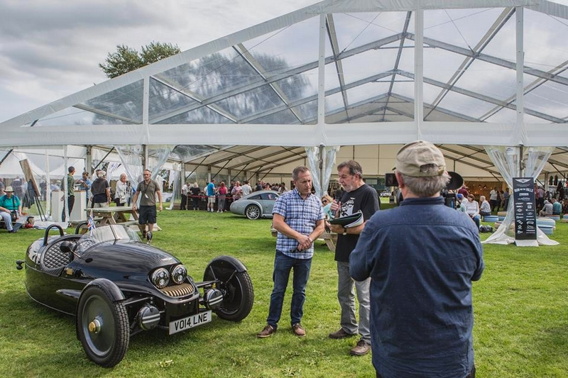 Morgan Motor Company, welcomed over 1,500 Morgans from a 108-year history in the Malvern Three Counties Showground-2017-00
