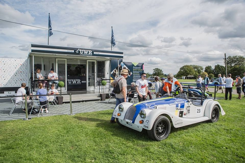 Morgan Motor Company, welcomed over 1,500 Morgans from a 108-year history in the Malvern Three Counties Showground-2017-02