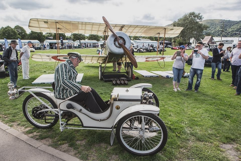 Morgan Motor Company, welcomed over 1,500 Morgans from a 108-year history in the Malvern Three Counties Showground