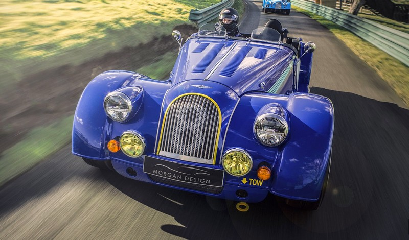 Morgan Plus 8 50th Anniversary Edition pays homage to Morgan's most popular 4 wheeled model over the last half-century