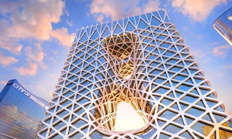 Morpheus Hotel Facade - Zaha Hadid Architects