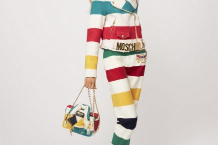Jeremy Scott is merging HBC's iconic striped planet with Moschino world