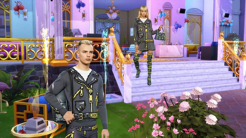 Moschino x The Sims capsule collection 2019-
