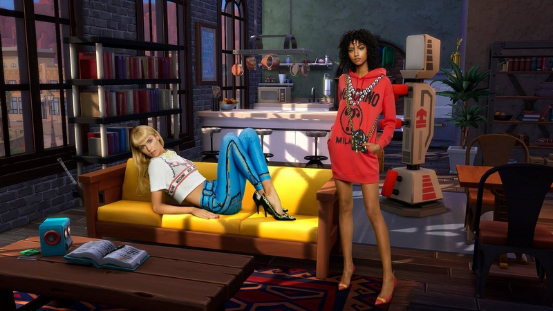 Moschino x The Sims capsule collection 2019-01