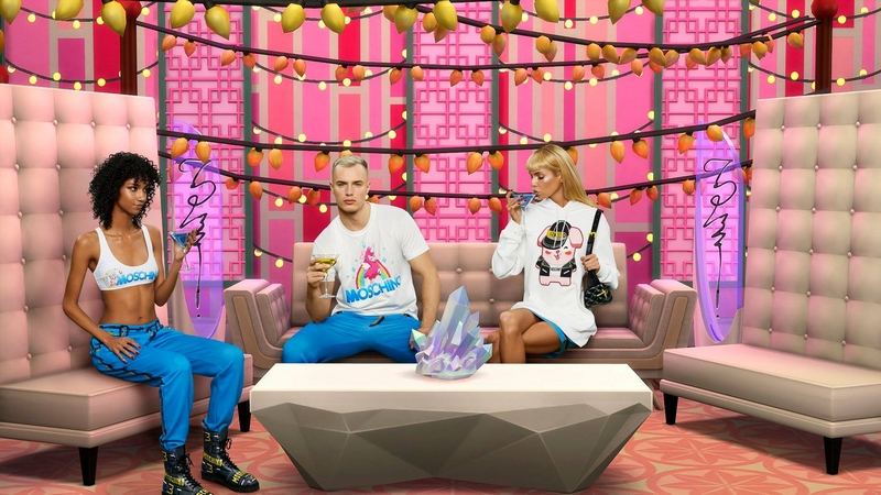 Moschino x The Sims capsule collection 2019-02