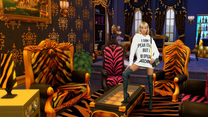 Moschino x The Sims capsule collection 2019-03