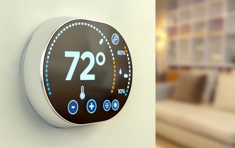 Most smart thermostats are attractive, and some are customizable or convert to a digital picture frame