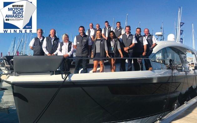 Motor Boat Awards 2019 - Customer Service Award Winners - TBS Boats Penton Hook