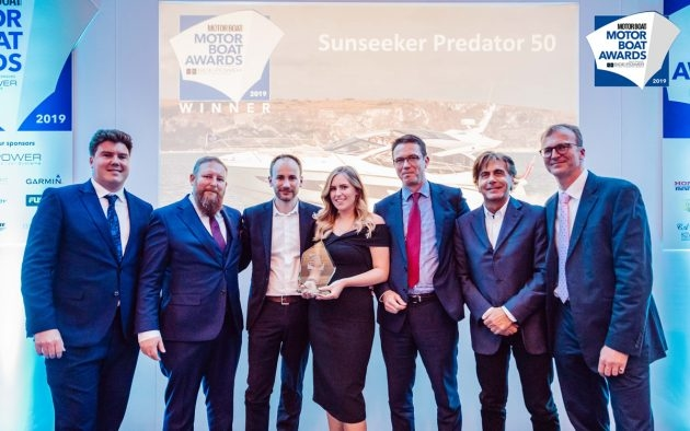 Motor Boat Awards 2019 - Winners Sunseeker Predator