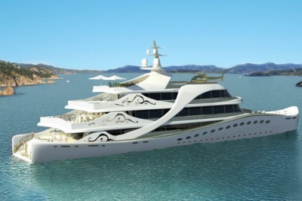 La Belle – The first luxury mega yacht designed with a female in mind