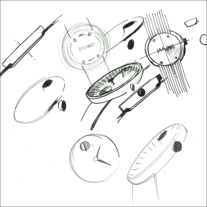 Movado x Ives Behar in a quest to identify the purest way to look at time-sketches