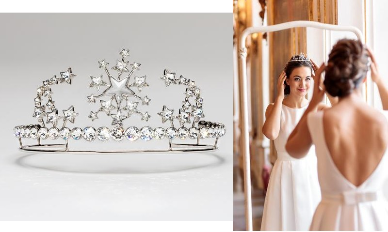 Mozart's Queen of the Night inspired Christian Lacroix's tiara for the 2020 Vienna Opera Ball