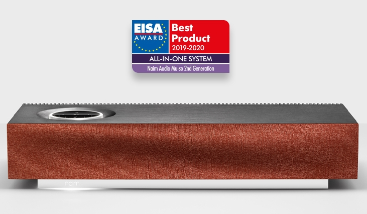 Mu-so 2nd Generation Wins 'Best All-In-One System' - EISA Awards 2019