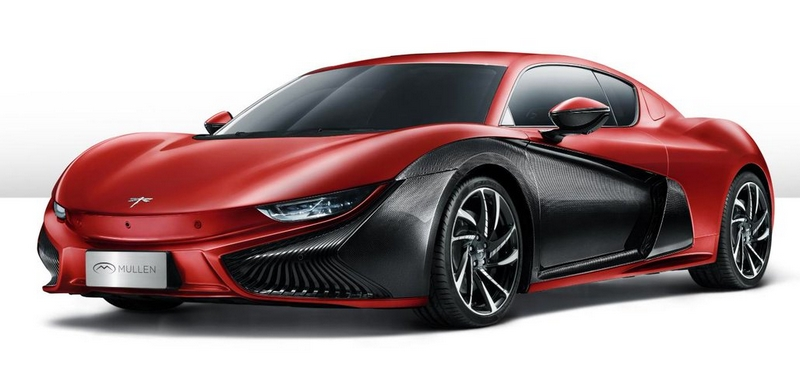 Mullen debuted the Qiantu K50 electric sports car at the 2019 New York Show-01
