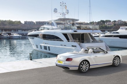 Inspired by luxury yachting: New, limited edition of the Continental GT Convertible