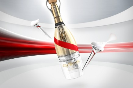 Mumm launches Grand Cordon Stellar – the high-tech champagne for astronauts and other space travelers