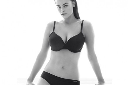 Calvin Klein ads featuring 'plus size' model Myla Dalbesio ignite online debate