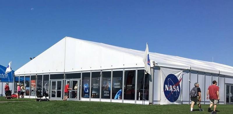 NASA Pavilion in Aviation Gateway Park