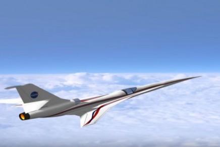 NASA's aeronautics research is building Quiet Supersonic X-plane