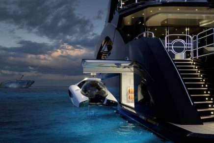 The smallest and lightest submersible ever produced recognized with a Red Dot Award for design excellence