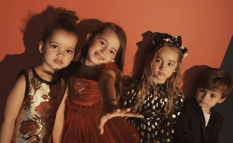 NET-A-PORTER launches Dolce & Gabbana childrenswear pop-up