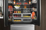 Luxury Inside and Out. Obsidian luxury refrigerators by Jenn-Air.