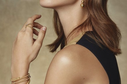 Designer Fine Jewelry: Caviar Collection transforms 18k gold into sculptural jewelry