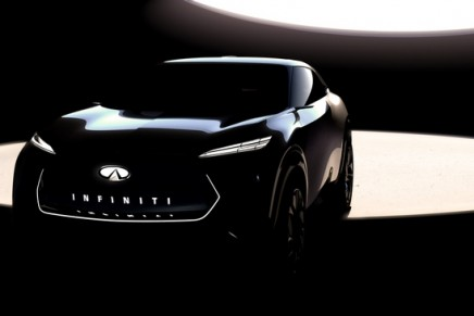 Infiniti previews future fully-electric crossover