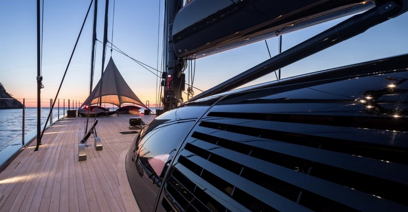 NGONI the 58m luxury yacht, built in Netherlands by Royal Huisman and delivered in 2017, won top honors at 2018 Boat International-